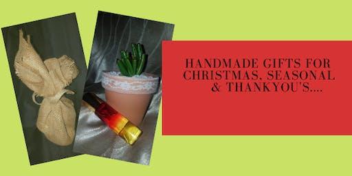Handmade for Christmas, Seasonal and Thankyou's