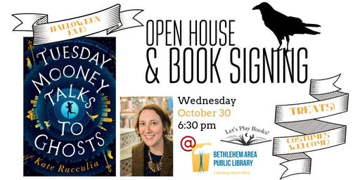 Tuesday Mooney Talks to Ghosts - Open House with Author Kate Racculia