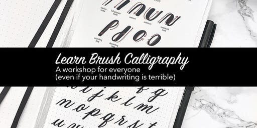 Beginners Brush Calligraphy Class - Learn Lettering!