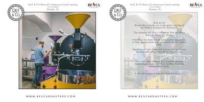 Besca Clients Gathering #1: BESCA Roasters EU Showroom Opening + Workshop