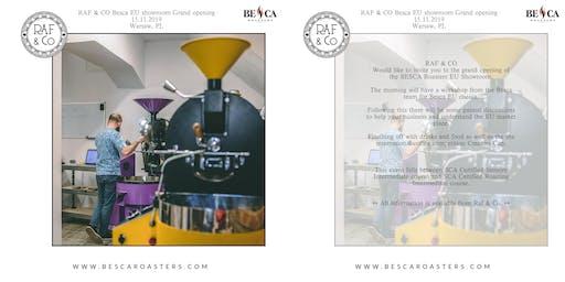 Besca Clients Gathering #1: BESCA Roasters EU Showroom Opening + Workshop