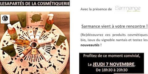 les Apartés de La Cosmétiquerie : rencontrez Sarmance !