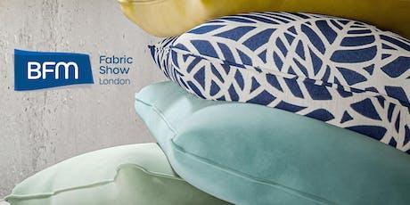 BFM Fabric Show London 2020 tickets
