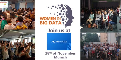 Women in Big Data @Usercentrics Tickets