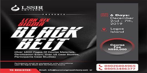 Lean Six Sigma Black Belt  Training Certification
