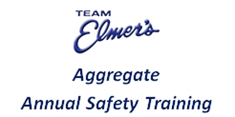 Aggregate Safety Training tickets