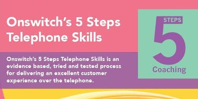 Onswitch's 5 Steps Telephone Skills - Sydney