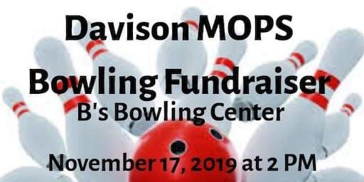 Davison MOPS Bowling Fundraiser