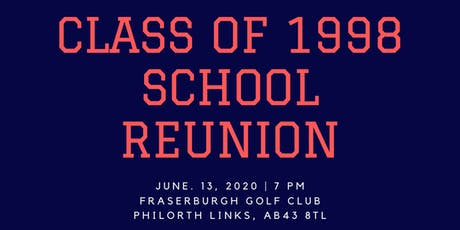Fraserburgh Academy Reunion 2020 tickets