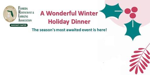 FRLA Suncoast Chapter presents - A Wonderful Winter Holiday Dinner