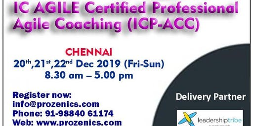 ICAgile Certified Professional Agile Coaching Certification