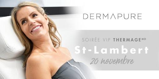 Soirée VIP Thermage - Dermapure St-Lambert