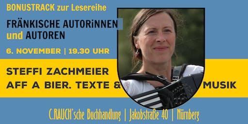 »Aff a Bier« — Steffi Zachmeier liest eigene Texte