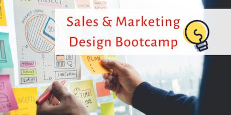 Sales and Marketing Design Sprint Bootcamp tickets