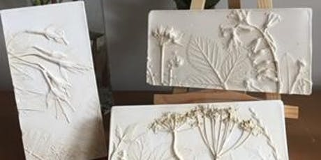 Plaster Casting Workshop (Nature-themed) - Mother's Day Treat! tickets