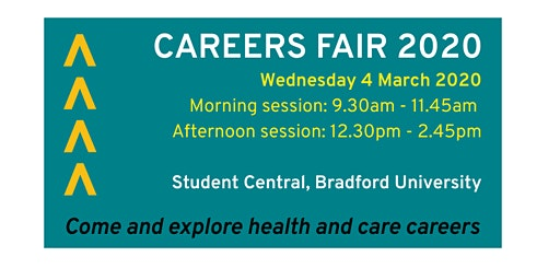 Careers Fair 2020 (schools, colleges and university students)