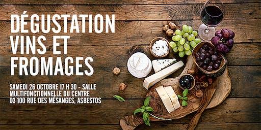 4 paires de billets à gagner pour la Dégustation Vins et Fromage (26 oct.)
