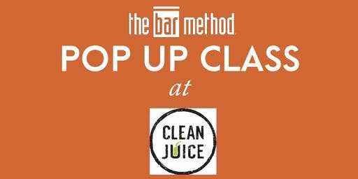 Bar Method Wexford Pop Up Class at Clean Juice Wexford