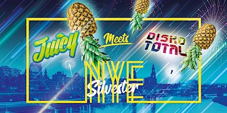 JUICY PARTY meets DISKO TOTAL • Silvester auf 2 Floors • Arteum Tickets