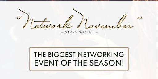 "A Savvy Social ""Network November"""