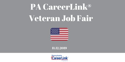 PA CareerLink Veteran Job Fair ( Veteran Job Seeker Registration)