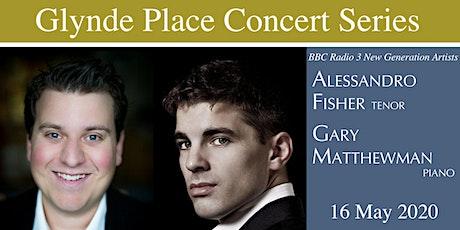 GPCS 2020 - Alessandro Fisher (tenor) with Gary Matthewman (piano) tickets