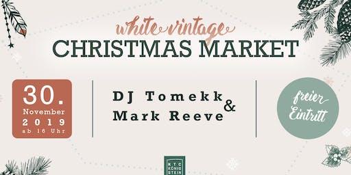 White Vintage Christmas Market