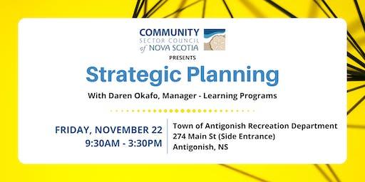 Strategic Planning Workshop - Antigonish