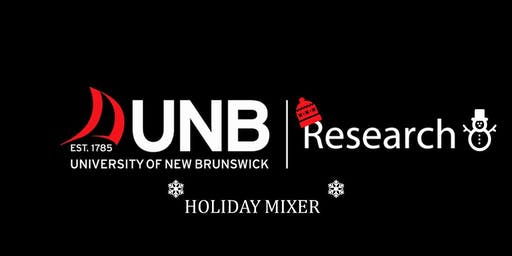 UNB Research Holiday Mixer