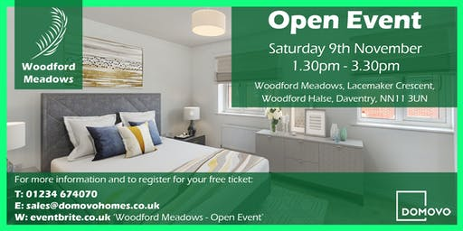 Woodford Meadows Open Event (November 19)