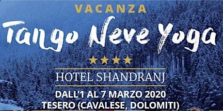 Tango Neve Yoga biglietti