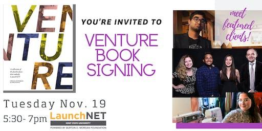 LaunchNET Venture Book Signing