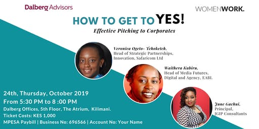 How To Get To Yes! | Effectively Pitch To Corporates