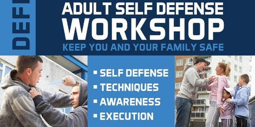 FREE Adult Self-Defense Workshop