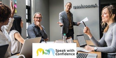 Speak with Confidence - Malmesbury tickets