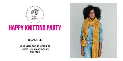 Knitting Party - Sally Scarf - MILANO