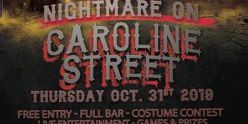 Nightmare on Caroline Street Halloween Party (Free with RSVP)