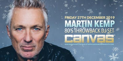 Martin Kemp: Back To The 80's Party (Rescheduled)