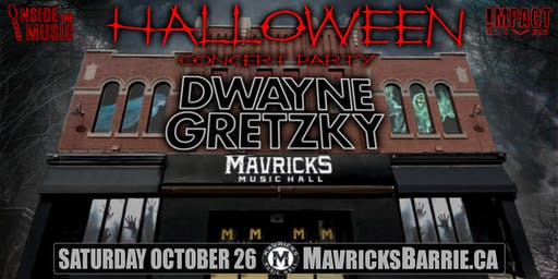 DWAYNE GRETZKY Halloween Concert Party!