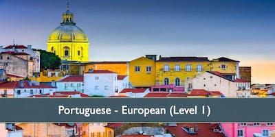 Portuguese European (Level 1) - January 2020