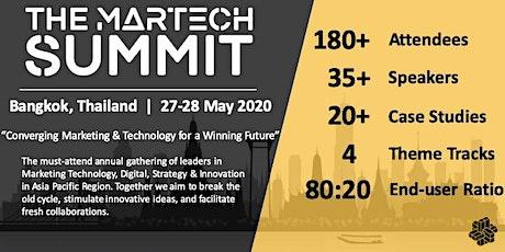 The MarTech Summit Bangkok tickets