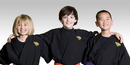 FREE Beginner Martial Arts Workshop - Ages 6 -12 + FREE Halloween Snacks!