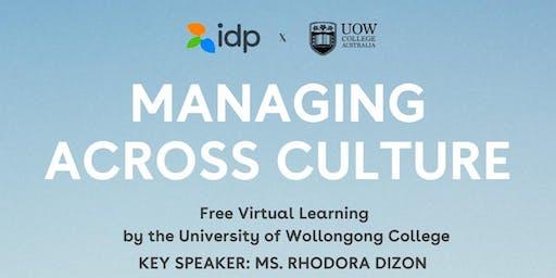 Virtual Learning: Managing Across Nation by Dr. Rhodora Dizon