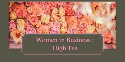 Women in Business  High Tea