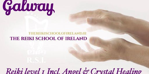 Reiki Level 1 including Angel & Crystal Healing