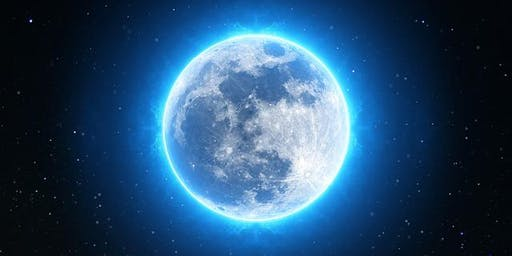 Full Moon Crystal Sound Transmission