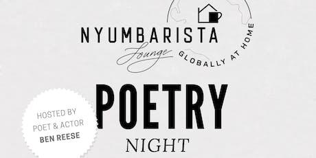 Nyumbarista Lounge Poetry Night tickets
