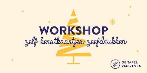 Workshop | Zelf Kerstkaartjes drukken