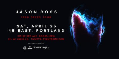 JASON ROSS -1000 FACES TOUR
