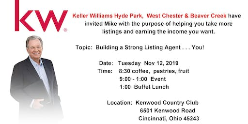 Mike Ferry Event: Building a Strong Listing Agent... YOU!
